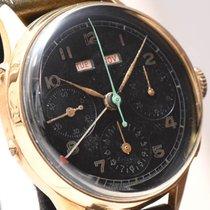 오레이터 옐로우골드 35.1mm 수동감기 중고시계