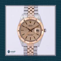 Rolex Datejust Turn-O-Graph Acero y oro 36mm Oro Sin cifras