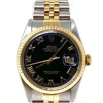 Rolex Datejust Gold/Steel 36mm Black No numerals United States of America, California, Sylmar