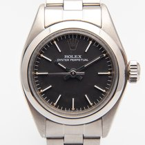 Rolex Oyster Perpetual 26 Acero 26mm Negro Sin cifras España, Madrid