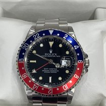 Rolex 16700 Steel 1990 GMT-Master 40mm pre-owned United States of America, New York, New York