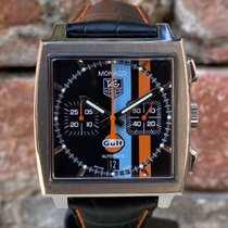 TAG Heuer CAW211A Steel 2007 Monaco Calibre 11 pre-owned