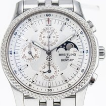 Breitling Bentley Mark VI Steel 40mm Silver No numerals United States of America, New York, Greenvale