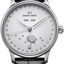 Jaquet-Droz Steel Automatic Silver 43mm new Astrale