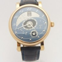 Martin Braun Rose gold Automatic Blue 42mm pre-owned