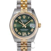 ロレックス (Rolex) Datejust Midsize Green/18k gold 31mm - 178273