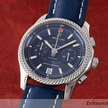 Breitling For Bentley Mark VI Stahl / Platin Chronograph Ref...