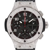 Hublot Big Bang Chronograph 41mm Steel Diamond Set Case/Bezel...