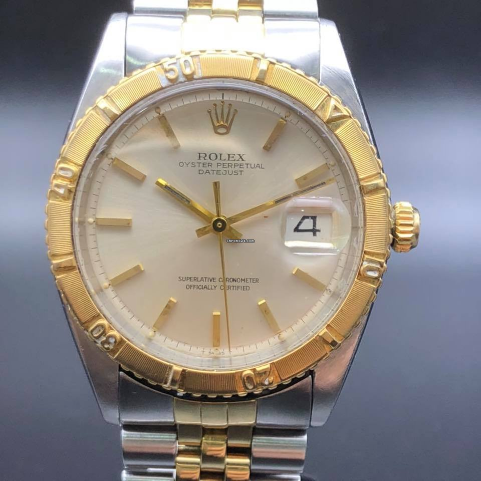 Rolex Datejust 2,tone Turn,O,Graph 1625 (Thunderbird)