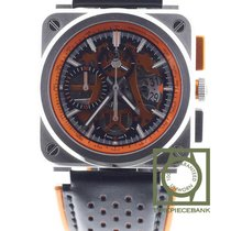 Bell & Ross BR 03-94 Chronographe Steel 42mm Transparent No numerals