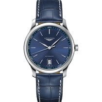 Longines Master Collection Steel 38.5mm Blue No numerals