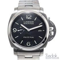 Panerai Luminor 1950 Marina Automatic Watch 44mm Steel PAM00328