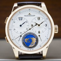 Jaeger-LeCoultre 6062520 Duometre Travel Time 18K Rose Gold...