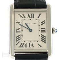 Cartier 3169 Steel Tank Solo 27mm