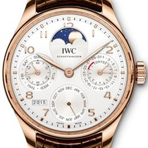 IWC Portuguese Perpetual Calendar Or rouge 44.2mm Argent Arabes