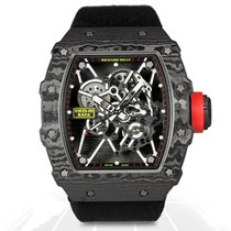 Richard Mille 49.9mm Manual winding 2014 pre-owned RM 035 Transparent