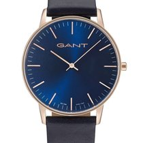 Gant nieuw Quartz 40mm Staal Mineraalglas
