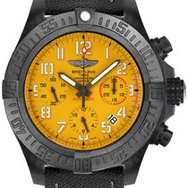 Breitling Plastic Automatic Yellow Arabic numerals 45mm new Avenger Hurricane