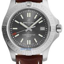 Breitling Chronomat Colt Stahl 41mm Grau