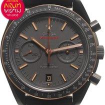 Omega Cerámica Automático Negro 44mm usados Speedmaster Professional Moonwatch