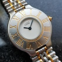 Cartier 21 Must de Cartier Gold/Steel 26mm White United States of America, California, Beverly Hills