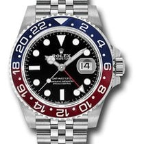 Rolex 126710BLRO Steel GMT-Master II 40mm new