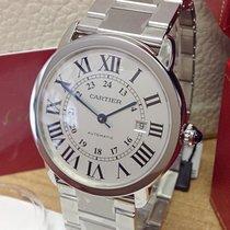 Cartier Ronde Solo de Cartier Steel 42mm Silver Roman numerals United Kingdom, Wilmslow