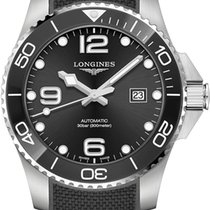 Longines HydroConquest Steel 43mm Black United States of America, New York, Airmont
