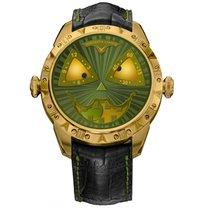 Konstantin Chaykin Bronze Automatic Green No numerals 42mm new
