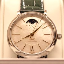 IWC Portofino Automatic Steel 37mm Mother of pearl Singapore, 271010