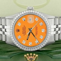 Rolex Datejust Steel 36mm Orange