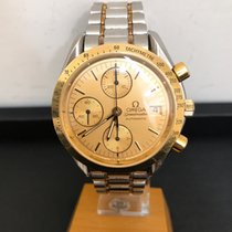 Omega Yellow gold Automatic Gold pre-owned Speedmaster Date