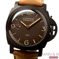 Panerai Ceramic Manual winding Black Arabic numerals 47mm pre-owned Special Editions