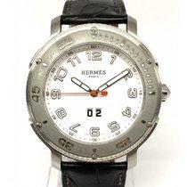 Hermès Clipper Stahl 45mm