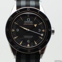 Omega Seamaster 300 Acciaio 41mm Nero Arabo