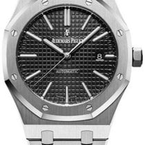 Audemars Piguet Royal Oak Selfwinding Steel 41mm Black No numerals United Kingdom, London