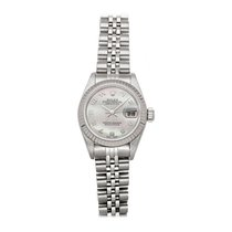 Rolex Lady-Datejust Acier 26mm Blanc Arabes