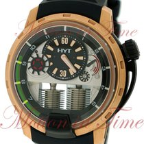 HYT pre-owned Manual winding 48.8mm Black Sapphire crystal 10 ATM