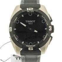Tissot T-Touch Expert Solar Titanium 45mm Black No numerals
