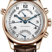 Longines Master Collection Rose gold 41mm Silver United States of America, New York, Airmont