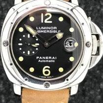 Panerai Luminor Submersible gebraucht Stahl