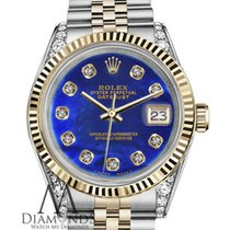 Rolex Datejust Gold/Steel 36mm Blue United States of America, New York, New York
