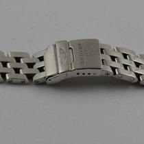 Breitling Pilot Armband Bracelet 780a Stahl/stahl 16mm Cockpit...