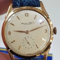 IWC Ultra Rare Iwc Vintage Oversize Rose Gold Cal 88 36mm+crown