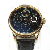 IWC Portuguese Perpetual Calendar Rose gold United States of America, New York, NEW YORK