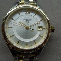 Tissot Lady 80 Automatic Золото/Cталь 37mm Cерый Без цифр