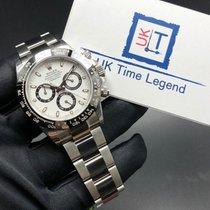 Rolex Daytona 116500 Stainless Steel Ceramic Bezel White Dial