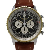 Breitling Navitimer Cosmonaute 81600 Chronograph Steel Gold No...