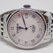 Tissot 1853 Le Locle Automatic White Dial Stainless Band Watch...