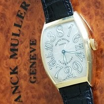 Franck Muller Crazy Hours Yellow gold Arabic numerals